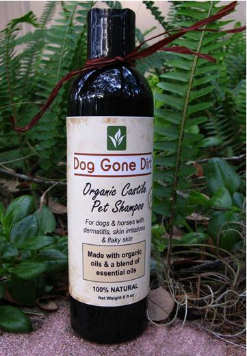 Dog Gone Dirt, Organic Castile Dog Shampoo, Organic Dog Shampoo