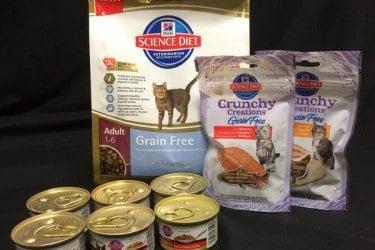 Gourmet Cat Food Menu: Hill's Science Diet Gift Basket Giveaway! 20 WINNERS! #HillsPet