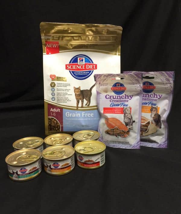 Gourmet Cat Food Menu: Hill's Science Diet Gift Basket Giveaway!  #HillsPet
