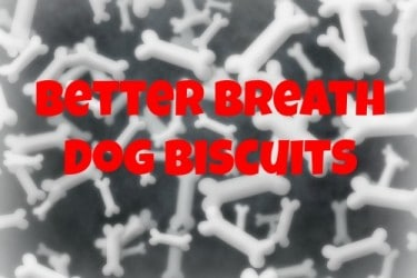 Better Breath Dog Biscuits Recipe