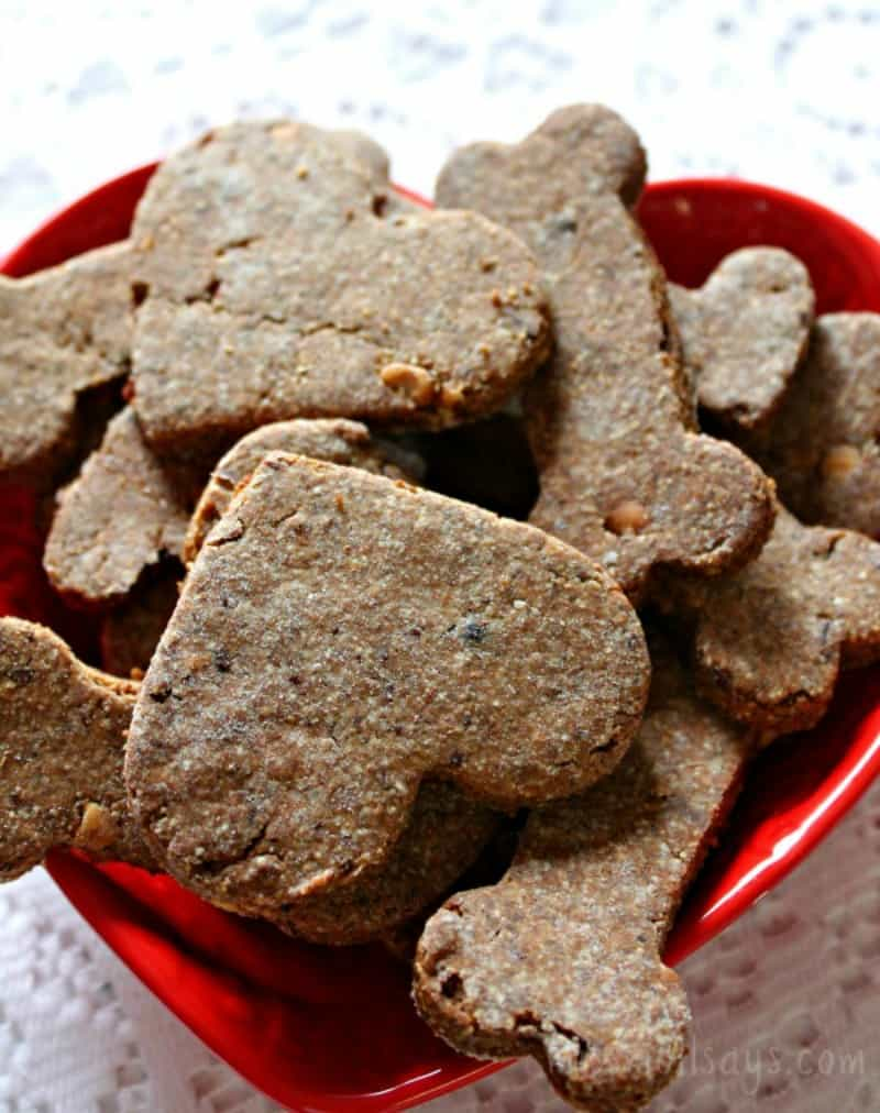 Dog Lovin' Homemade Dog Treats Recipe