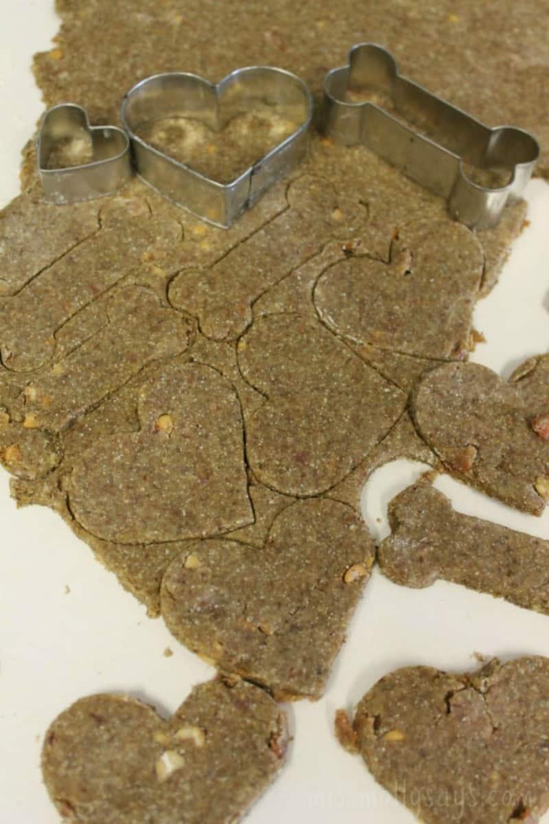 Dog Lovin' Homemade Dog Treats Recipe process