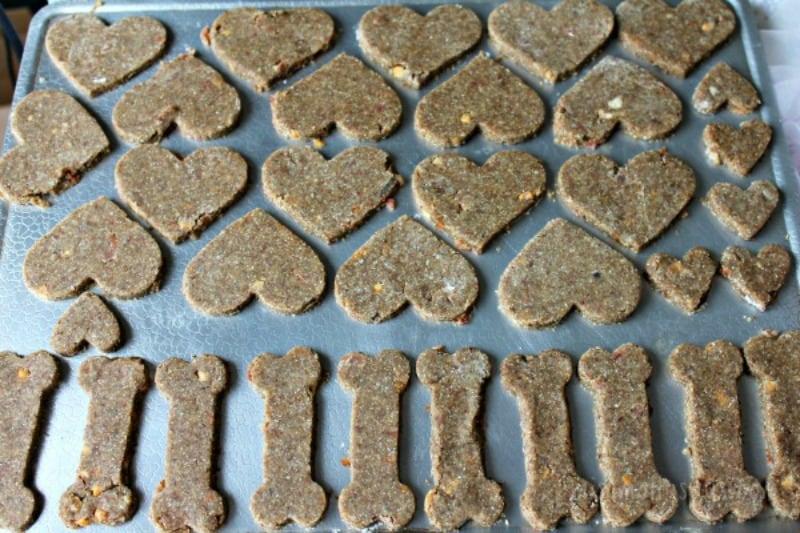 Dog Lovin' Homemade Dog Treats Recipe process 3