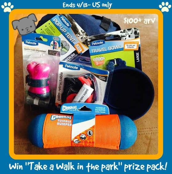 Petmate 'Take a Walk in the Park' Prize Pack  button