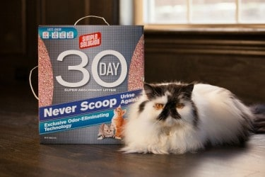 Simple Solution 30 Day Super Absorbent Cat Litter