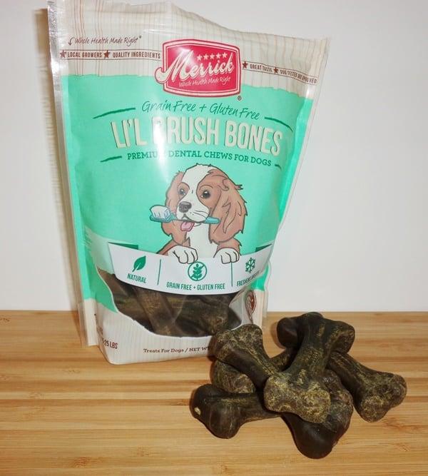 Merrick-Lil'-Brush-Bones-Grain-Free-Dental-Chews-Dog-Treats