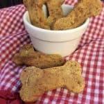 Homemade Carrot Dog Treats with Gluten Free Flour
