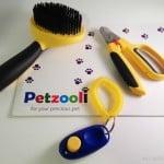 Petzooli-Grooming-Brush-Nail-Clippers-and-Training-Clicker