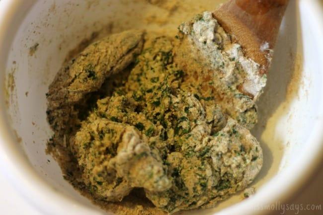 Homemade-Parmesan-Spinach-Dog-Treats