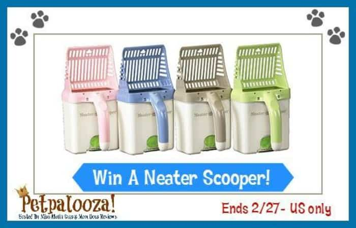 Neater Scooper giveaway button