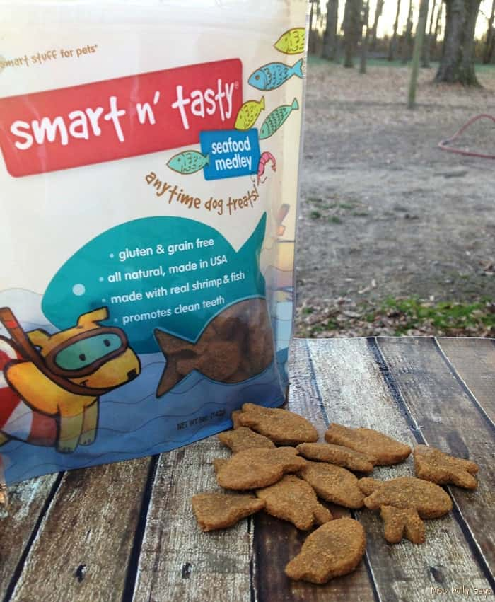 Smart n Tasty All-Natural Dog Seafood Dog Treats