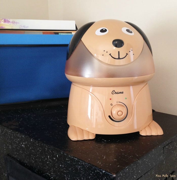Crane USA Cocoa the Dog Cool Mist Humidifier