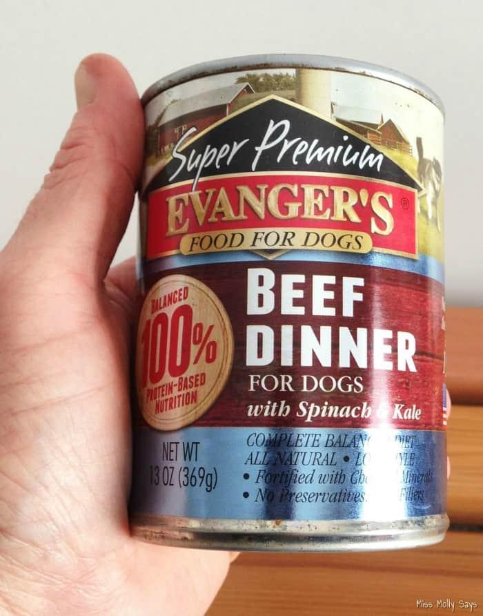 Evangers Super Premium Beef Dinner 1