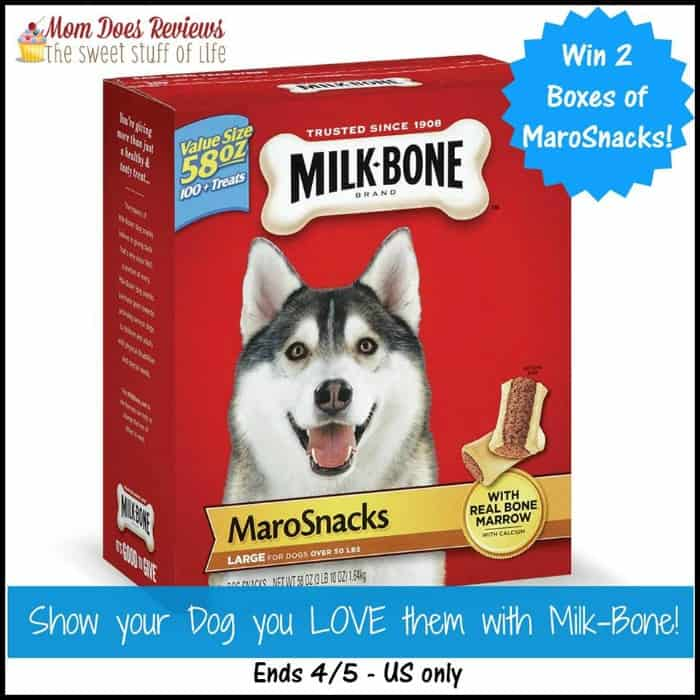 Milk-Bone MarowSnacks #Giveaway! #petpalooza