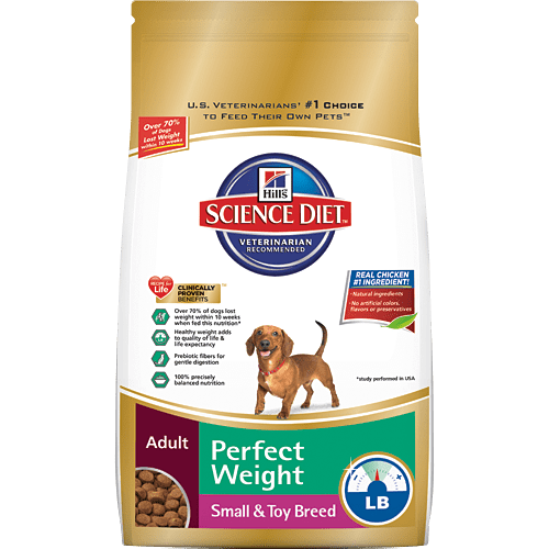 Help Your Overweight Pets with Hill's #PerfectWeight - Perfect Weight Small Breed