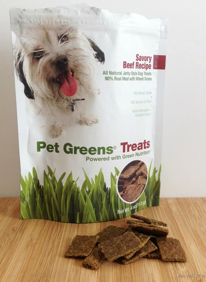 Pet Greens Treats - Savory Beef Recipe 1