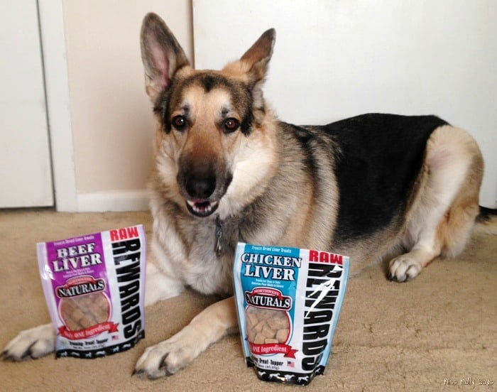 Northwest Naturals Raw Rewards Freeze Dried Dog Treats from Natural Pet Warehouse #Review