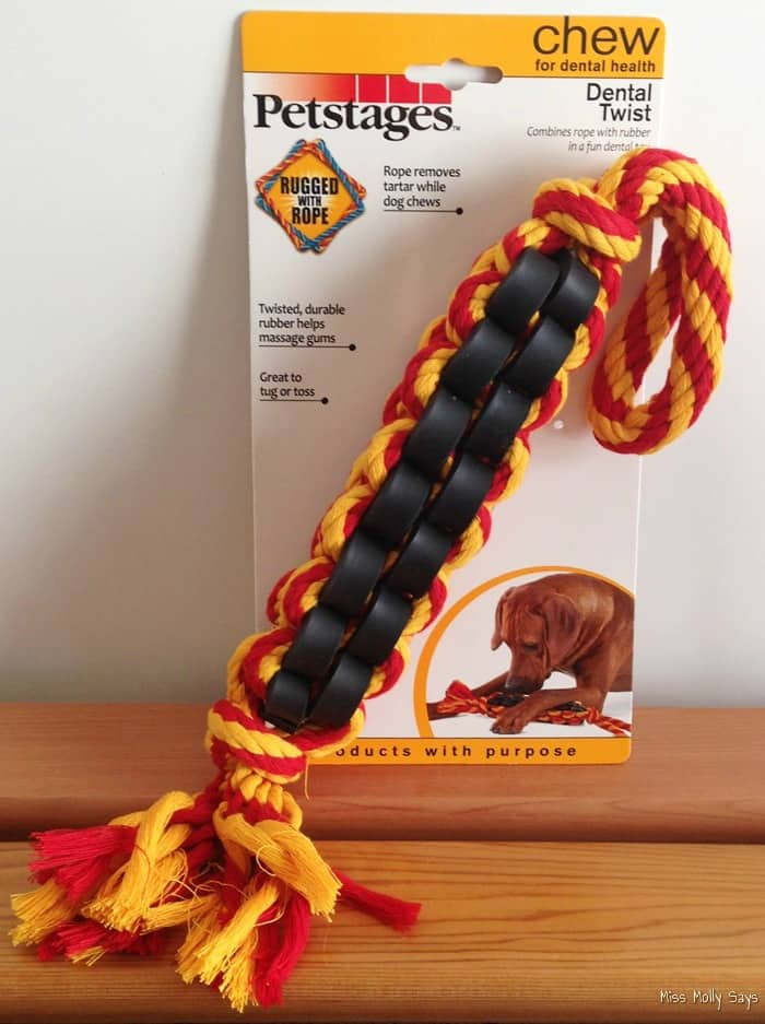 Petstages Dental Twist Chew Toy - 1