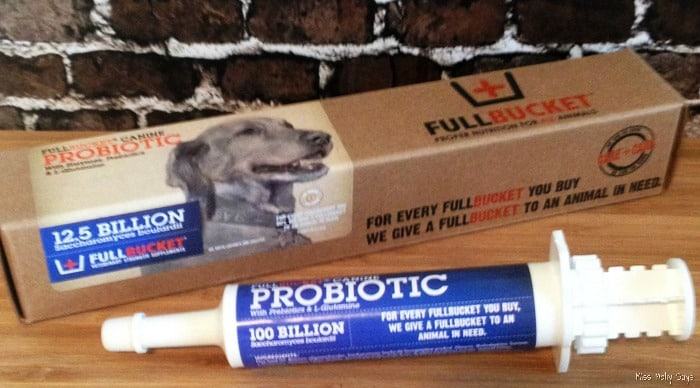How a Canine Probiotic Supplement can help: Diarrhea, Vomiting and Gas #Review