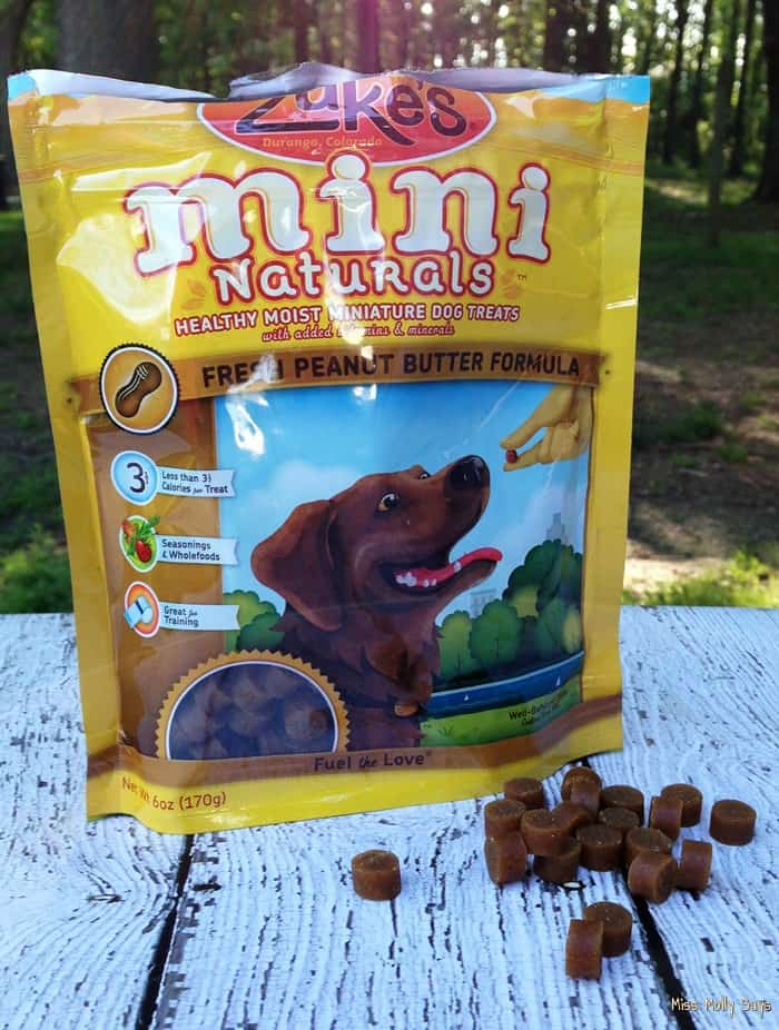 Zuke's Mini Naturals Dog Treats are Perfect for Training! #Review