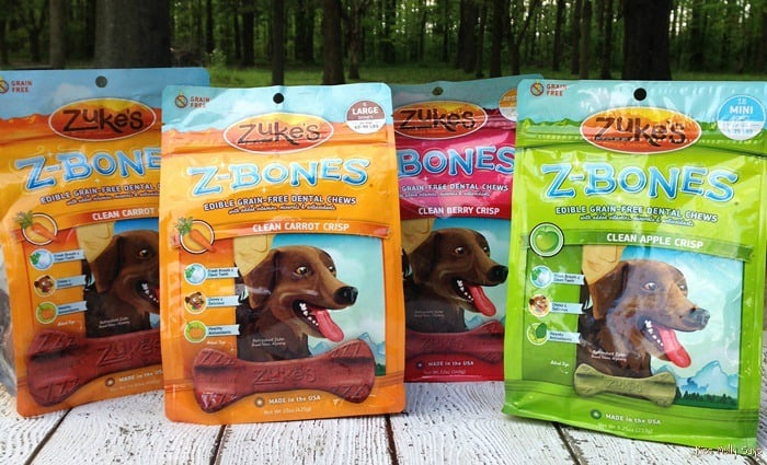 Zuke's Z-Bones Grain Free Dental Chews for Dogs #Review