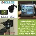 #Win a Scout1100 Wireless Video Pet Camera!
