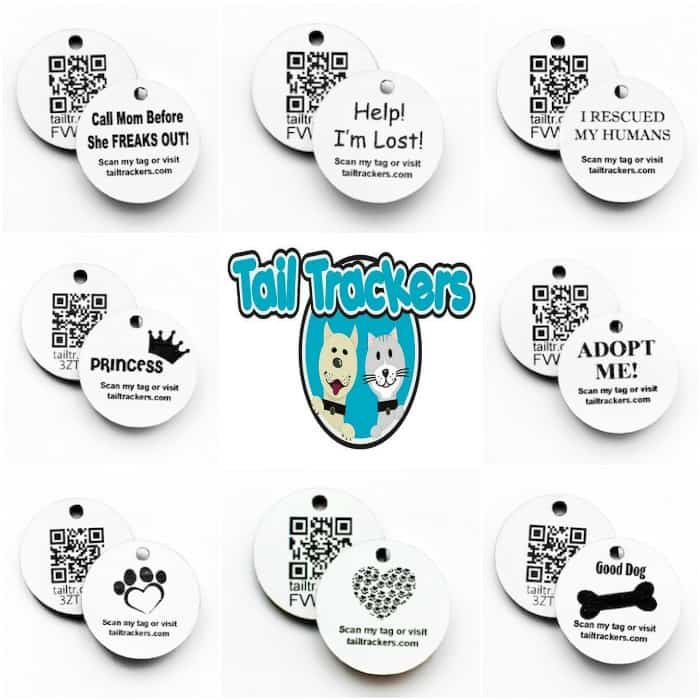 Tail Trackers Scannable Pet ID Tags: Keep your Pets Safe! #Review