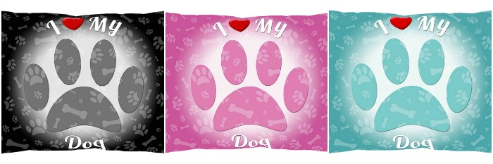 iLeesh Pet Bed color assortment