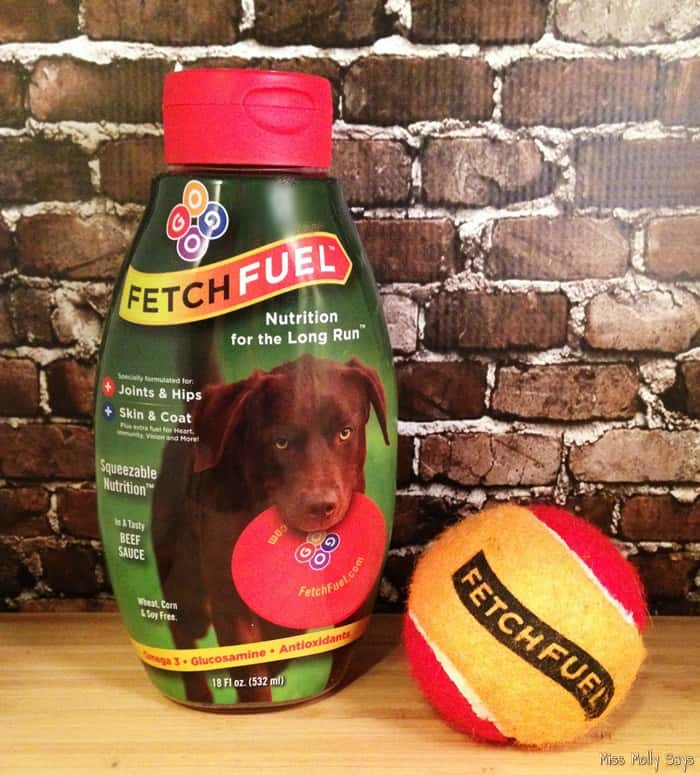 FetchFuel Squeezable Joint & Coat Supplement #Review