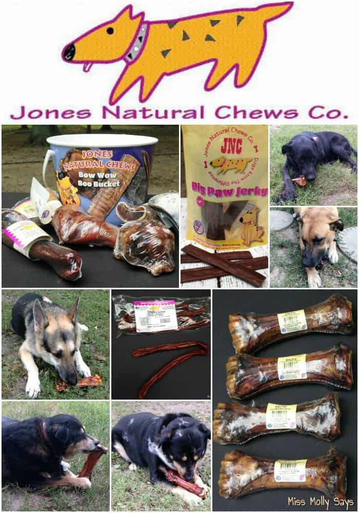 Jones Natural Chews: The Bones and Chews of Doggie Dreams! #Review