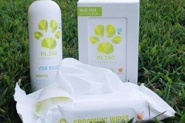 PL360 Pet Grooming Wipes and Itch Relief Shampoo are Must Have's for all Pet Owners #Review