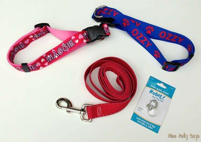 Hot Dog Personalized Dog Collars, Leashes, and More!  #Review