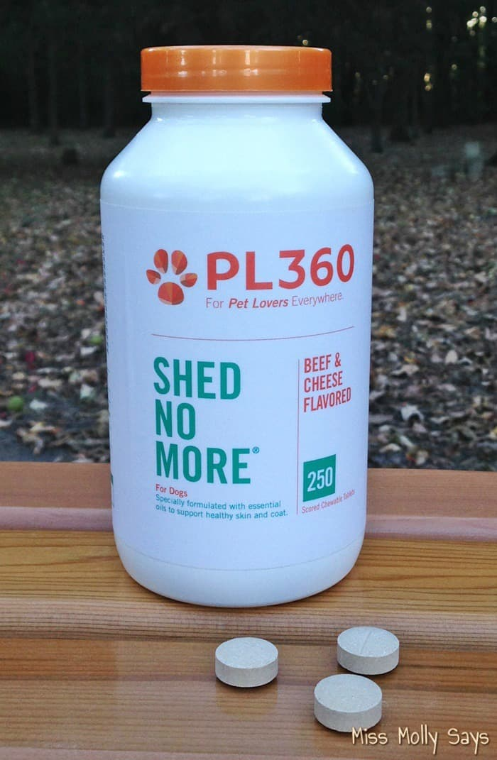 PL360 Shed No More Pet Supplements
