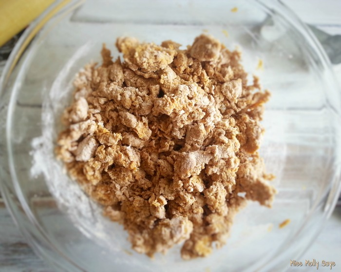 Pumpkin and Peanut Butter Dog Treats process 2