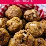 Cheerios, Banana & Bacon Dog Treats Recipe