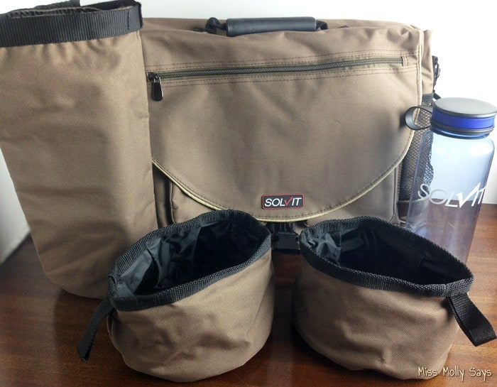 Solvit HomeAway Travel Organizer Kit for Pets makes Road Trips Easy! #Review