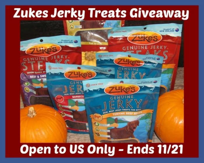 #Win a Zuke's Jerky Prize Pack! - ends 11/21 US Only