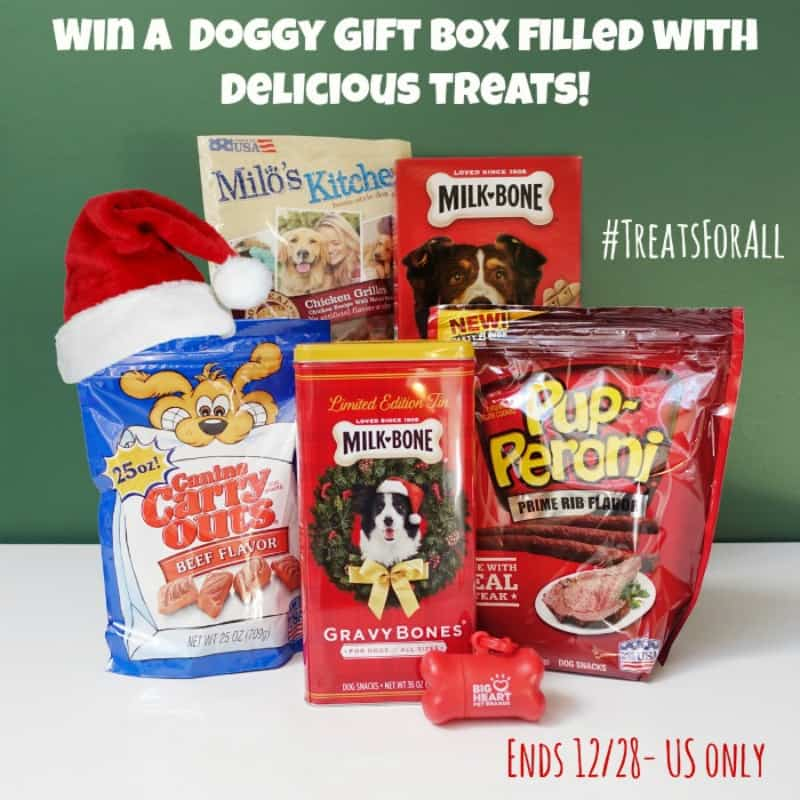 #Win a Doggy Gift Box filled with Delicious Treats! - ends 12/28 US Only