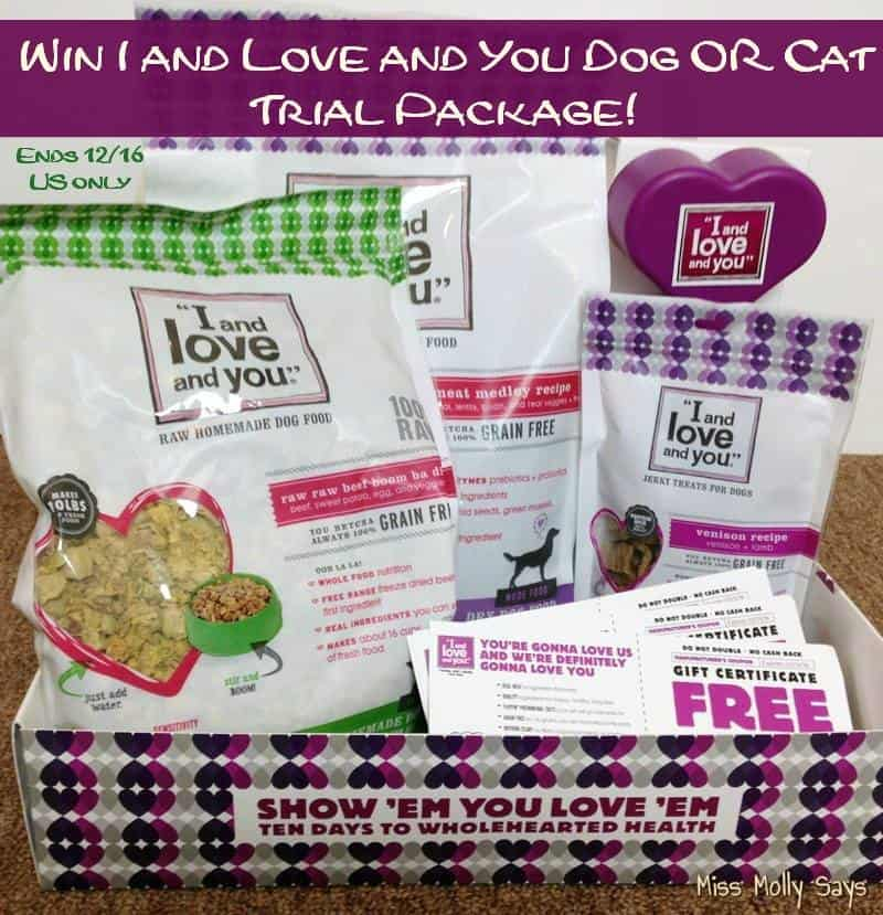 #Win an I and Love and You Dog or Cat Prize Pack! #MyILYPet - ends 12/16 US Only