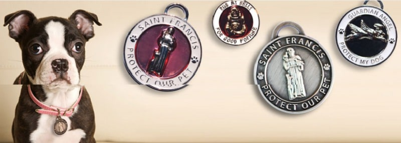 Luxepets pet tags and charms