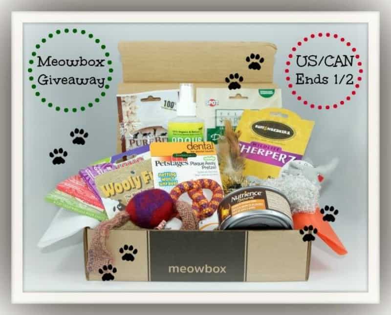 #Win a Meow Box Prize Box ($60+ value) for your Kitty! - ends 1/2 US & Canada