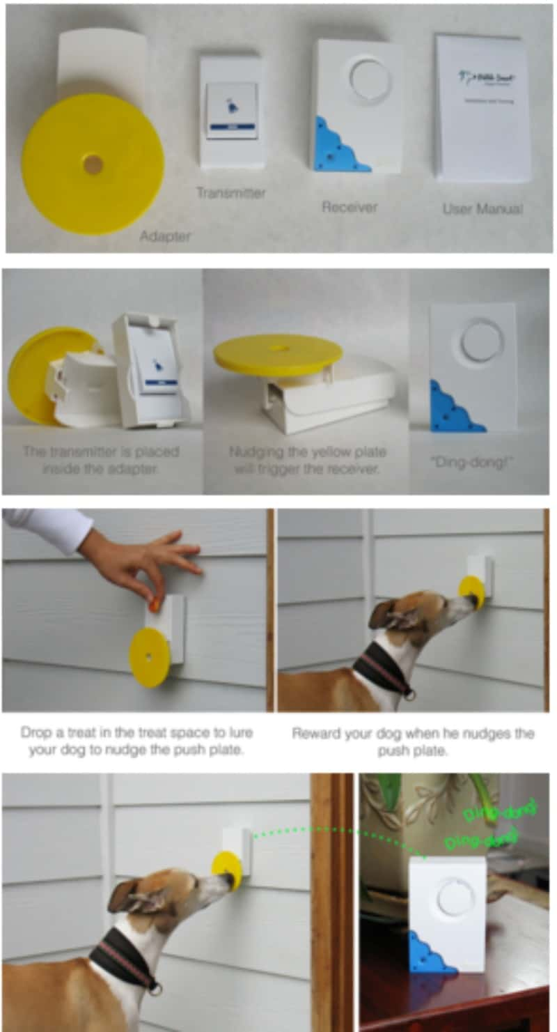 Doggie Doorbell from Pebble Smart puts an end to Scratched up Doors! #Review
