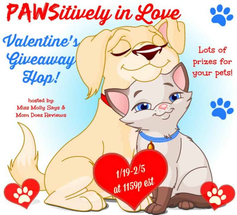 Pawsitively in Love Giveaway Hop