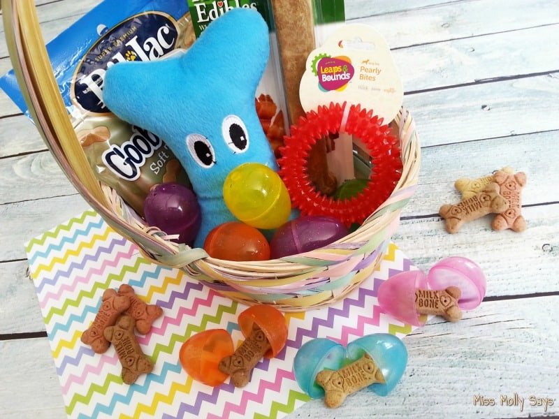 DIY Easter Basket for Dogs horizontal 1