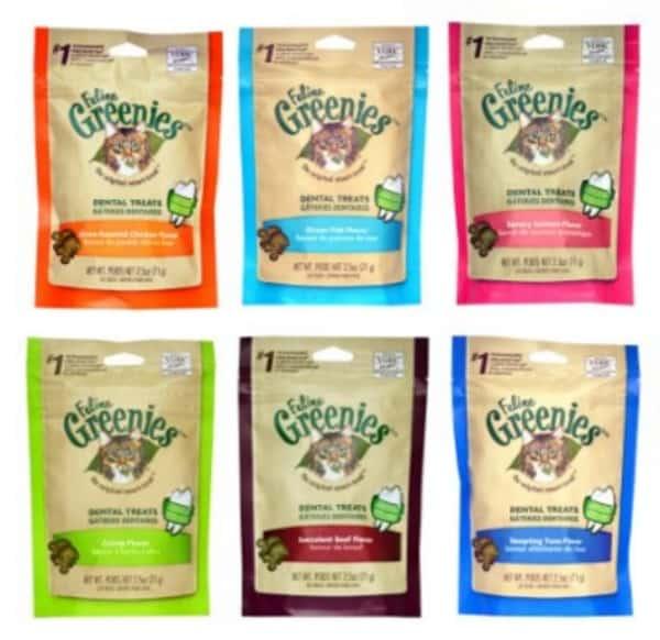 Greenies Dental Chews for cats