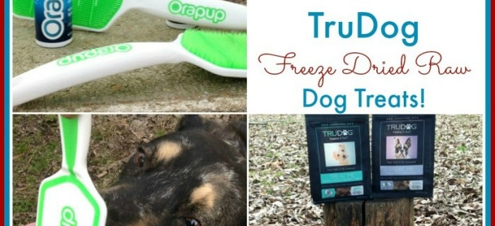 #Win an Orapup and TruDog Freeze Dried Dog Treats Prize Pack! – ends 2/21 US Only