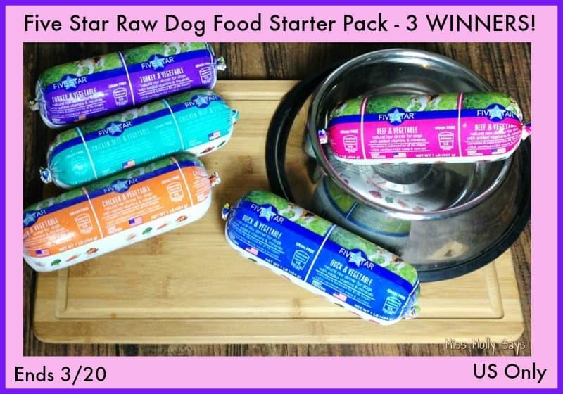 Five Star Raw Dog Food