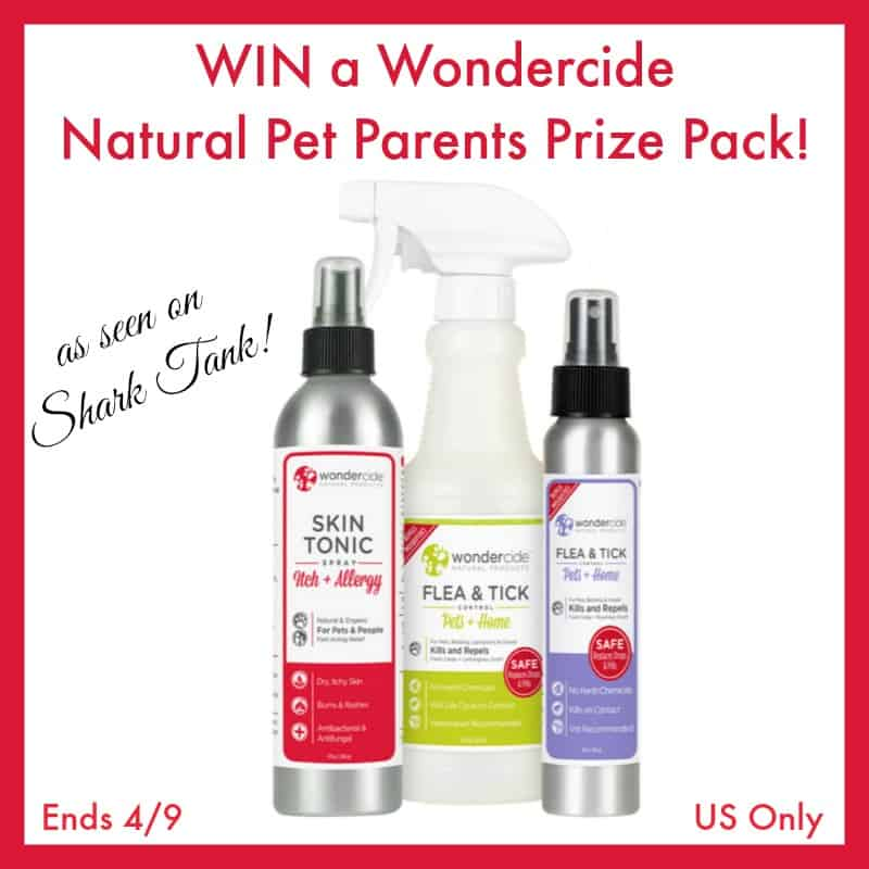 #Win a Wondercide Natural Pet Parents Prize Pack ($40 value)! - ends 4/9 US Only