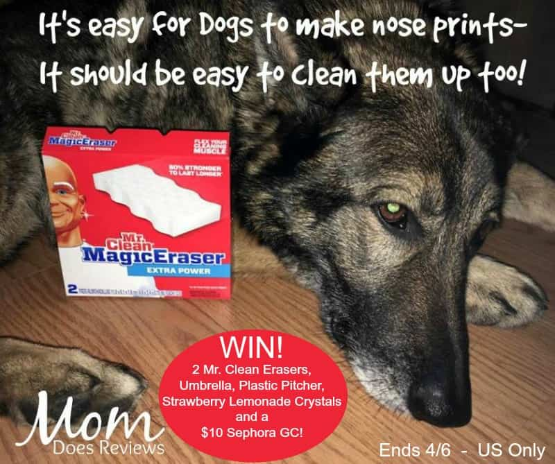 #Win a Mr. Clean Magic Eraser Prize Pack for all Life's Little Messes - ends 4/6 US Only