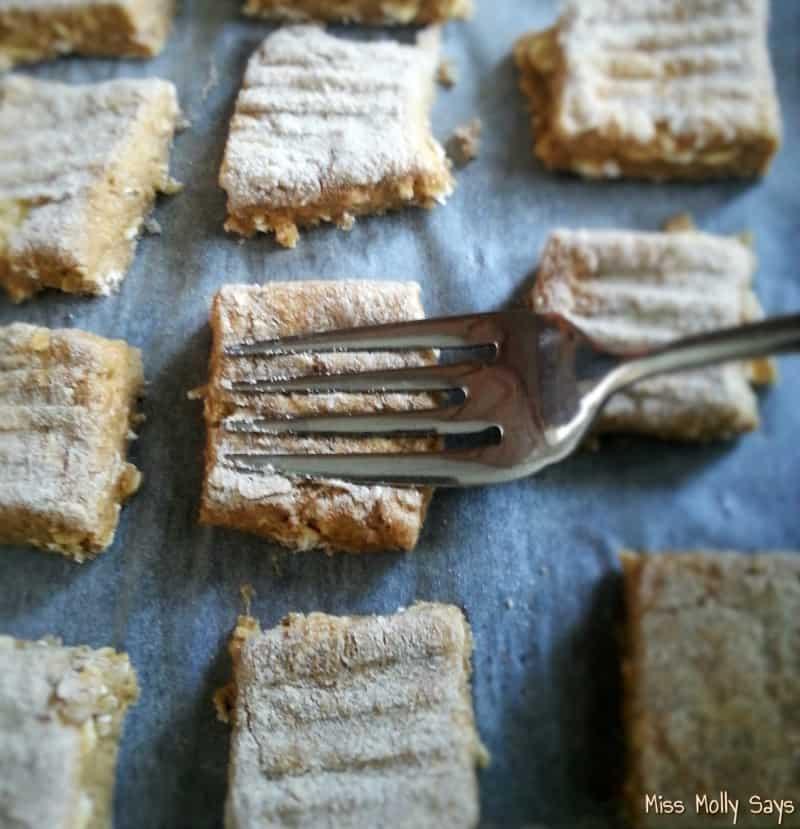 Homemade Sweet Potato Banana Dog Treats process 4